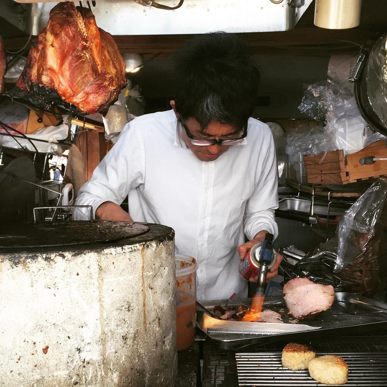 Roast Pork truck