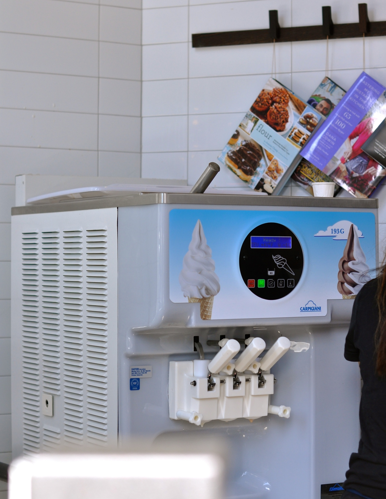 DAK soft serve machine