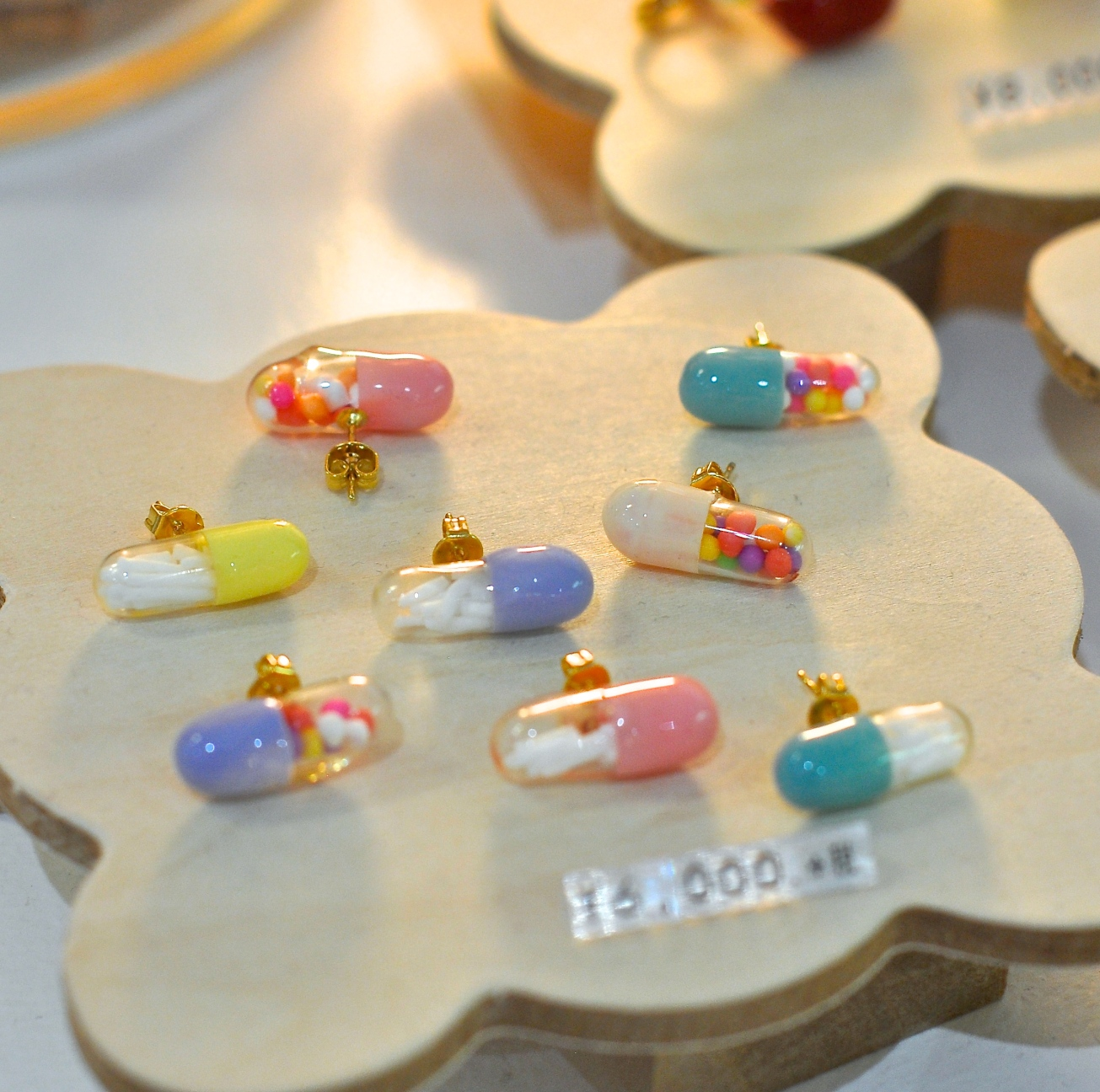 Candy Pills Earrings