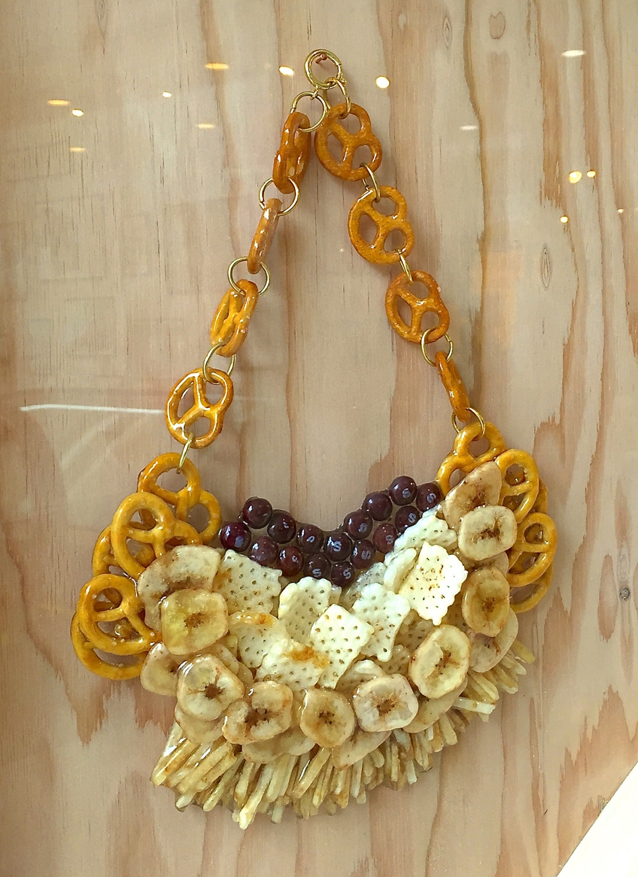 mixed snack necklace