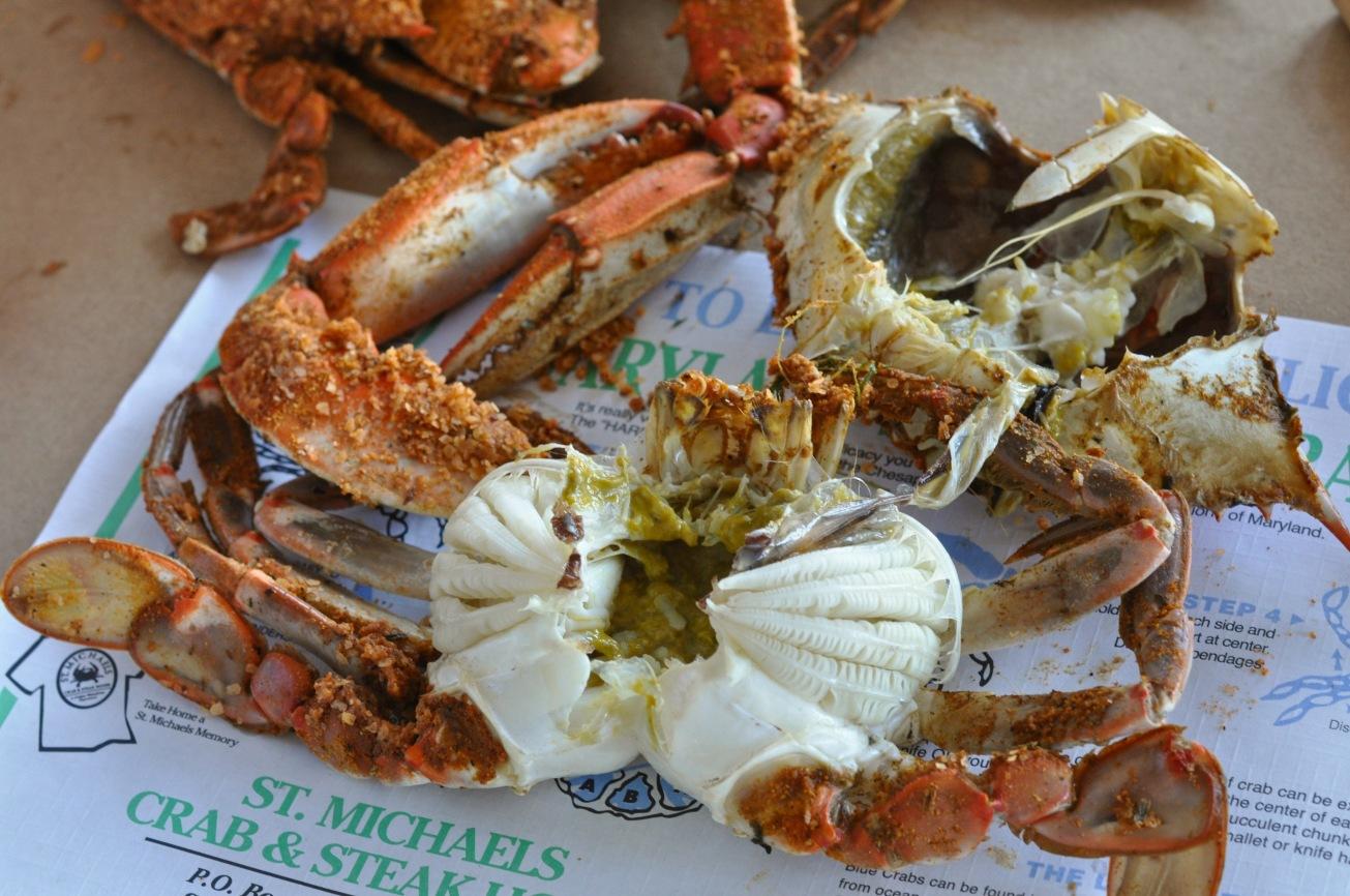Crab innards