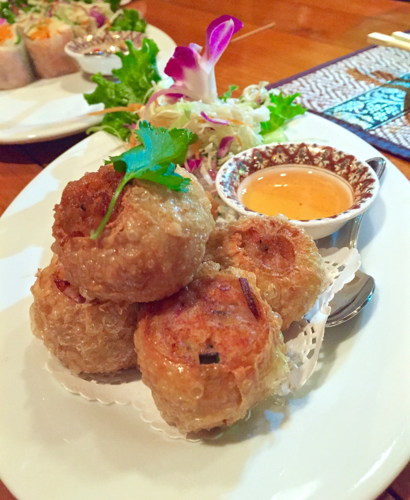 Fried Pork & Shrimp Balls