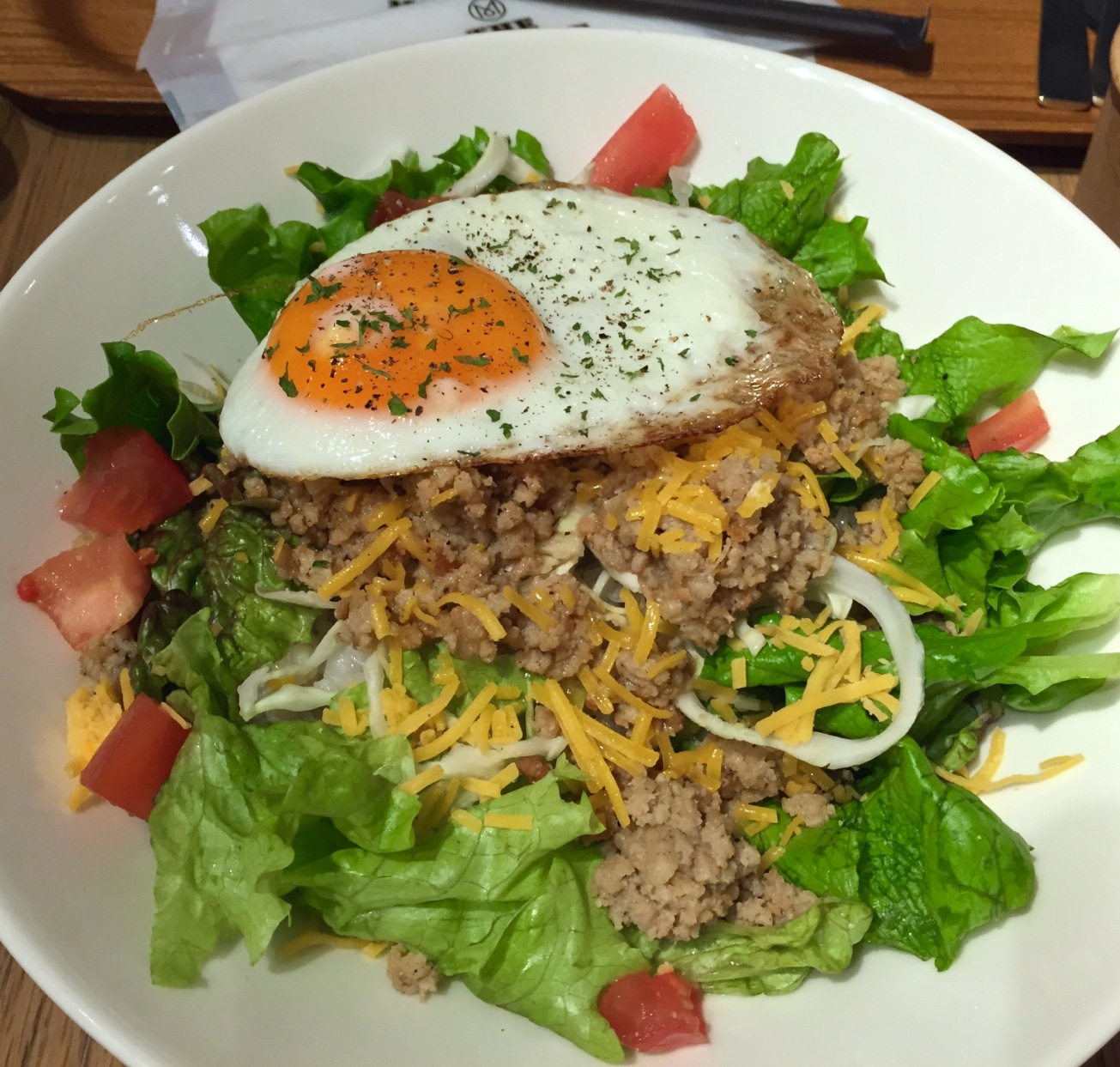 Monocle Cafe's Taco Rice