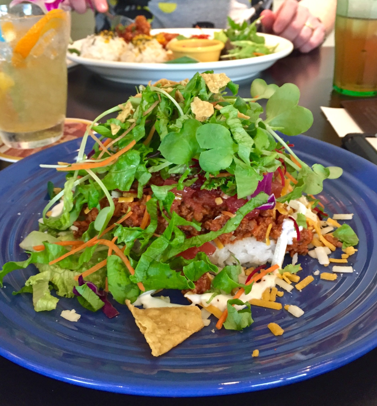Aloha Table's Soy Meat Taco Rice